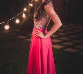 Vestido de recepción/fiesta