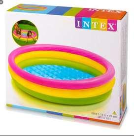 Piscina Inflable Intex 114 Cm X 25 Cm Para Agua O Pelotas