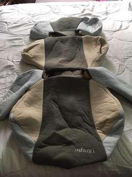 Forro protector acolchado silla bebe grande marca Infanti