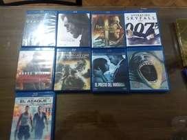 Dvds y Blue Ray Variados entre películas y musicales usados Originales