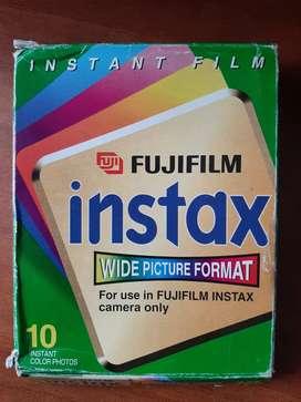 Película para cámara instantánea FUJIFILM. 10 fotos instantáneas a Color. Instant Film for use in FUJIFILM INSTAX.