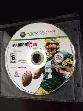 Madden 09 Futbol Americano Xbox 360 Cambio o Vendo