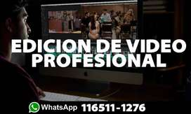 EDICION DE VIDEO PROFESIONAL