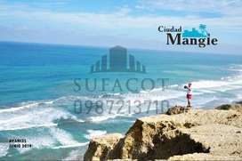 Venta de TERRENOS FRENTE AL MAR, En PLena Ruta Spondylus a 8 minutos de Playa San Lorenzo, 1.000 Usd de Entrada, S1