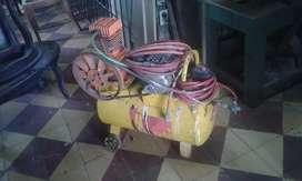 Vendo compresor de 100 psi