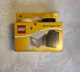 Salero y pimentero de Lego