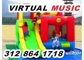 virtual music DISCO MOVIL EVENTOS, INFLABLES, RECREACION.