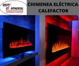 Chimeneas bluetooth con parlantes calefactor control remoto chimeneas eléctricas