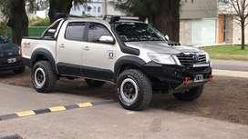 Hilux 2014 automatica srv cuero 105.000 km