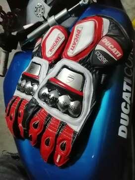 Guantes Ducati corsé en titanio