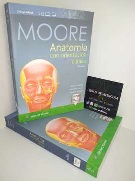 Anatomia con Orientacion Clinica Moore 8va Edicion - Tamaño A4