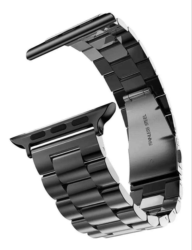Correa Acero Metal Band @ Apple Watch 44mm 42mm S 1 2 3 4 5
