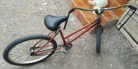Bicleta clásica freno a contrapedal