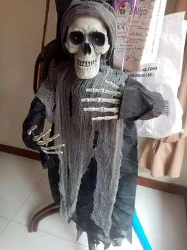 Vendo esqueleto adorno halloween NUEVO