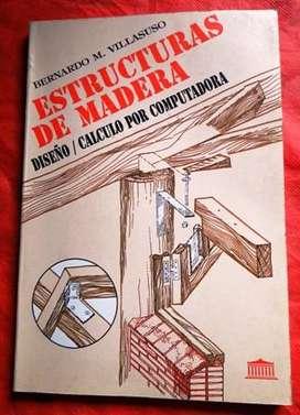 ESTRUCTURAS PARA MADERA DISEÑOCÁLCULO POR COMPUTADORA BERNARDO VILLASUSO