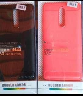 Protector Silicona Nokia 8