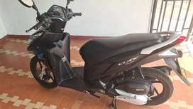 Honda click 125i Edición Especial Negro Mate