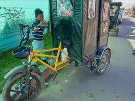 Bicitaxi con motor y cupo en Soacha