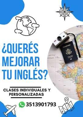 Profe de Inglés- especializada en SPEAKING- TODOS LOS NIVELES