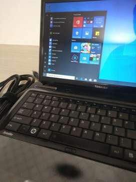 Portátil Toshiba I3 Ram 4gb Hdd 500gb