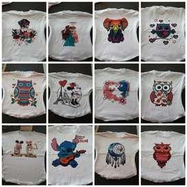 Camisetas para niña y mujer