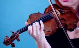Se dictan clases de violin a domicilio