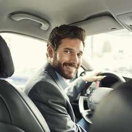 Conductor con auto 4 puertas Registro profesional Horario flex