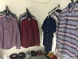 Ropa americana camisas Tommy Hilfiger talla S-M-L-XL 100% originales y nuevas