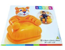 Sillon Inflable Para Niños Intex Tigre para niños