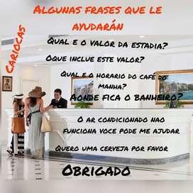Clases de Portugues presencial o on line
