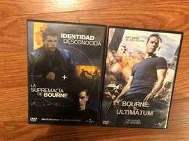 serie en dvd trilogia bourne original