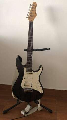 Regalo Guitarra electrica marca biscayne rocker