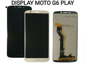 Display Moto G6 Play Instalado Domicilio