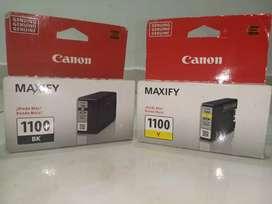 Venta Cartucho Negro y Amarillo Maxify 1100 para impresoras Canon Mb2110 y Mb 2010