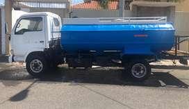 Vendo o cambio tanquero QMC Crono con tanque de fibra en la ciudad de Manta