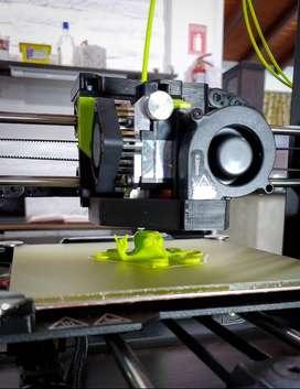 Impresión 3D - Diseño paramétrico y orgánico - Producción
