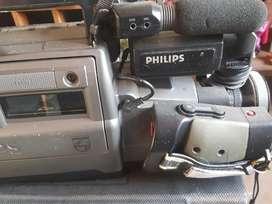 Video Filmadora Phillips Vhs Usada