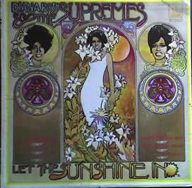 DIANA ROSS THE SUPREMES LET THE SUNSHINE -  MS689 STEREO  AUDIOMAX
