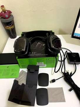 Audifono Gamer Razer Tiamat 7.1 V2 Analog Black Gaming