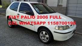 Fiat Palio Fire 2006 nafta full full muy bueno