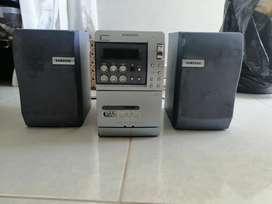 Se vende equipo de sonido Samsung
