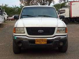 Ford Ranger 2002 blindada