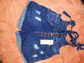 Shorts de jeans nuevo  cankan..talla7..