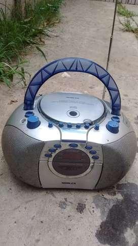Vendo radiograbador Noblex