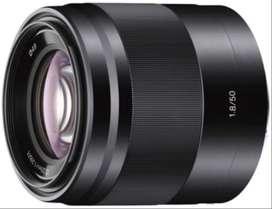 Sony E 50mm F/1.8 OSS APS-C montura E