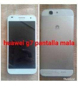 HUAWEI G7 L03 DISPLAY DAÑADO 0