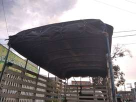 CARPA PARA CAMIONETA, CAMIÓN PEQUEÑO
