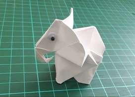 Elefantes de Origami