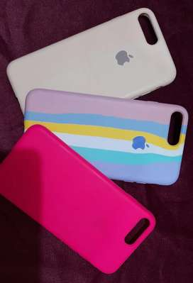 silicone case para iPhone 8 plus