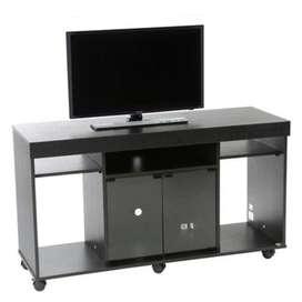 DE SEGUNDA SE VENDE Mesa de TV con Puertas Abatibles